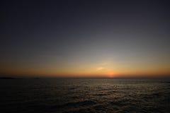 Ανατολή στο νησί Ταϊλάνδη Samed Στοκ Εικόνες