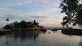Ανατολή στο παραθαλάσσιο θέρετρο Turi Στοκ Φωτογραφία
