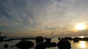 Ανατολή στο παραθαλάσσιο θέρετρο Turi Στοκ Φωτογραφίες