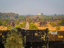 Ανατολή στο angkor wat Στοκ Εικόνα