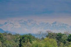 Ανατολή στο Annapurnas Στοκ Φωτογραφίες