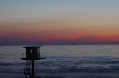 ανατολή της θάλασσας τη&sigma Στοκ Φωτογραφία