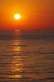 ανατολή της θάλασσας τη&sigma Στοκ εικόνα με δικαίωμα ελεύθερης χρήσης