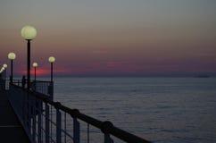 ανατολή της θάλασσας τη&sigma Στοκ εικόνες με δικαίωμα ελεύθερης χρήσης