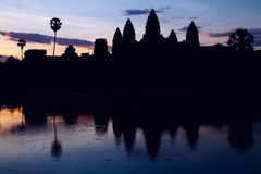 ανατολή της Καμπότζης angkor wat Στοκ Εικόνα