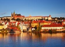 ανατολή της Πράγας Στοκ Εικόνα