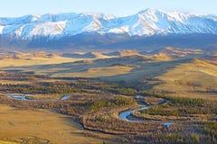 ανατολή της Ρωσίας βουνών altai στοκ φωτογραφίες