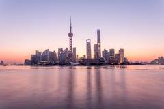 Ανατολή της Σαγκάη στοκ εικόνες με δικαίωμα ελεύθερης χρήσης