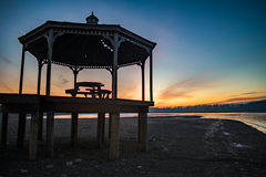 Ανατολή του Milton λιμνών Στοκ φωτογραφία με δικαίωμα ελεύθερης χρήσης