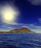 Ανατολή Χονολουλού Χαβάη στοκ εικόνες
