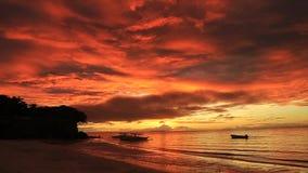 Ανατολή Bohol απόθεμα βίντεο