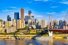 Ανατολή Chongqing Στοκ Φωτογραφίες