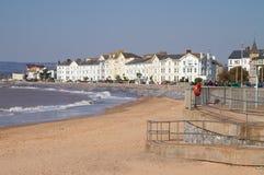 Πόλη Devon Αγγλία Exmouth Στοκ φωτογραφία με δικαίωμα ελεύθερης χρήσης