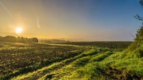 Ανατολή Lancashire Στοκ Εικόνες