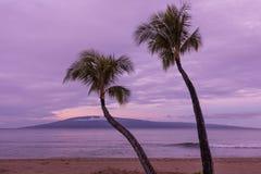 Ανατολή Maui Στοκ φωτογραφία με δικαίωμα ελεύθερης χρήσης