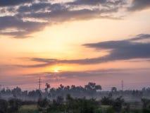 Ανατολή Peshawar Πακιστάν Στοκ Εικόνα