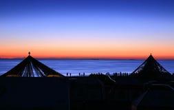 ανατολή qinghai λιμνών Στοκ εικόνα με δικαίωμα ελεύθερης χρήσης