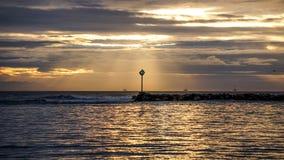 Ανατολή, Sandspit Στοκ φωτογραφία με δικαίωμα ελεύθερης χρήσης
