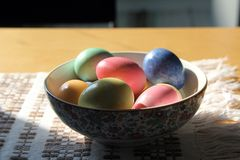 ανατολικά αυγά Στοκ Εικόνες