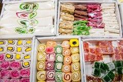 Ανατολικά γλυκά σε ένα ευρύ φάσμα, baklava Στοκ φωτογραφίες με δικαίωμα ελεύθερης χρήσης