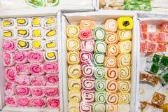 Ανατολικά γλυκά σε ένα ευρύ φάσμα, baklava Στοκ Εικόνα