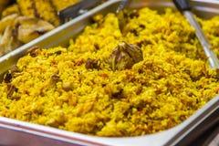 Ανατολικά τρόφιμα plov Στοκ εικόνα με δικαίωμα ελεύθερης χρήσης