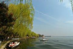 Ανατολική λίμνη την άνοιξη Στοκ εικόνες με δικαίωμα ελεύθερης χρήσης