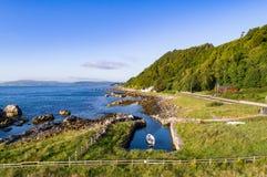 Ανατολική ακτή της Βόρειας Ιρλανδίας Στοκ εικόνα με δικαίωμα ελεύθερης χρήσης