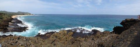 Ανατολική ακτή της Χαβάης Στοκ φωτογραφία με δικαίωμα ελεύθερης χρήσης