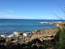Ανατολική ακτή της Χαβάης Στοκ Εικόνες