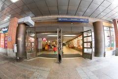 Ανατολική είσοδος της Τάμπερε Asematunneli Στοκ Φωτογραφία