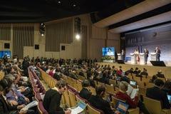 Ανατολική συνεργασία Sammit Στιγμές εργασίας Στοκ Εικόνες