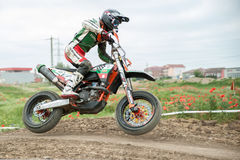 Ανατολικο-ευρωπαϊκό πρωτάθλημα 2013 Supermoto Στοκ Φωτογραφίες