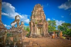 Ανατολικός ναός Mebon σε Angkor wat σύνθετο, Καμπότζη Στοκ Εικόνες