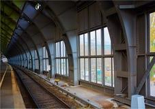 Ανατολικός σιδηροδρομικός σταθμός του Βερολίνου Στοκ φωτογραφία με δικαίωμα ελεύθερης χρήσης