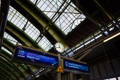Ανατολικός σιδηροδρομικός σταθμός του Βερολίνου Στοκ Εικόνες