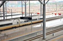 Ανατολικός σιδηροδρομικός σταθμός Hangzhou Στοκ Φωτογραφίες