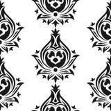 ανατολικό άνευ ραφής ύφος προτύπων αραβική διακόσμηση Στοκ Εικόνες
