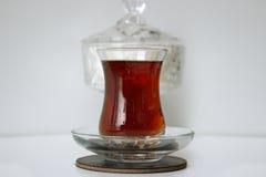 Ανατολικό κόκκινο τσάι και ανατολικό γυαλί Στοκ Εικόνα