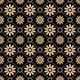 Ανατολικό χρυσό σχέδιο πολυτέλειας ύφους Στοκ εικόνες με δικαίωμα ελεύθερης χρήσης
