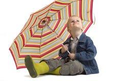 ανατρέχοντας βροχή Στοκ φωτογραφίες με δικαίωμα ελεύθερης χρήσης
