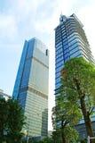 Ανατρέχοντας χαμηλότερος οι ουρανοξύστες, επαρχία Guangdong Στοκ Φωτογραφία