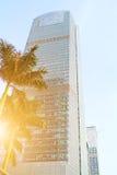 Ανατρέχοντας χαμηλότερος οι ουρανοξύστες, επαρχία Guangdong Στοκ Φωτογραφίες