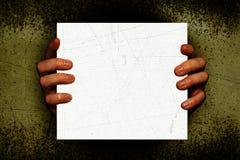 ανατριχιαστικά χέρια Στοκ εικόνες με δικαίωμα ελεύθερης χρήσης