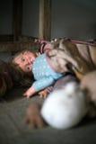 Ανατριχιαστικές κούκλες Στοκ φωτογραφία με δικαίωμα ελεύθερης χρήσης
