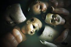 Ανατριχιαστικές κούκλες Στοκ Εικόνα