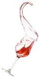 Ανατροπή κόκκινου κρασιού Στοκ εικόνα με δικαίωμα ελεύθερης χρήσης