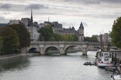αναφέρετε de ile Λα Παρίσι Στοκ Εικόνα