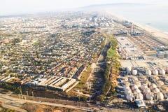Αναχώρηση του αερολιμένα του Λος Άντζελες Στοκ Εικόνες