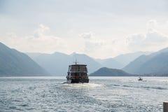 αναχώρηση του σκάφους Στοκ Εικόνα